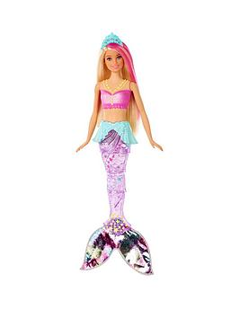 Barbie Barbie Dreamtopia Sparkle Lights Mermaid Doll Picture