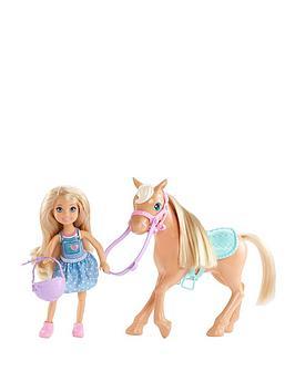 barbie-chelsea-and-pony