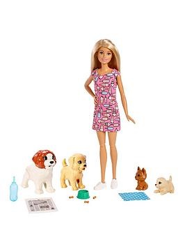 Barbie Doggy Day Care Doll And Pets Playset