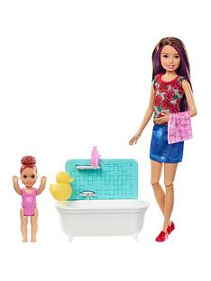 barbie-babysitter--bath-time-fun