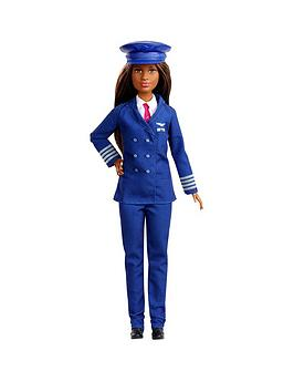 Barbie Barbie I Can Be A Pilot - 60Th Career Pilot Doll Picture