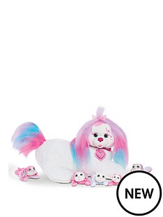 puppy-surprise-puppy-surprise-plush-missy-white-dog-with-rainbow-fur-wave-1-replaced-item