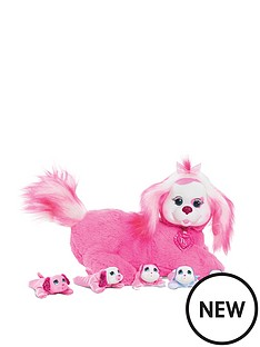 puppy-surprise-puppy-surprise-plush-polly-pink-dog-wave-1-replaced-item