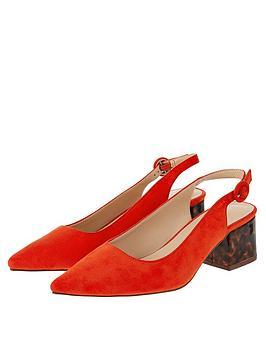 monsoon-sammy-sling-block-point-shoes-orange