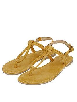 monsoon-lola-loop-suede-sandals-yellow