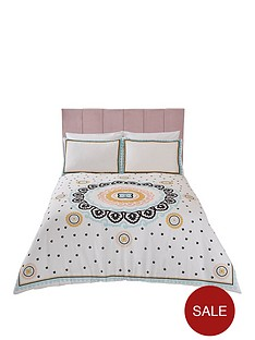 river-island-medallion-embroidery-and-print-duvet-cover-set