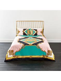 river-island-pastel-medallion-print-duvet-cover-set