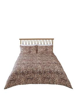 River Island River Island Photographic Leopard Print Duvet Cover Set Picture