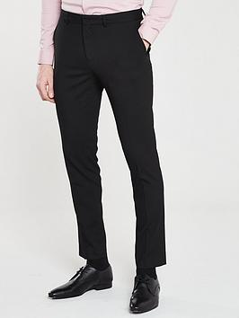 River Island River Island Smart Skinny Black Trousers Picture