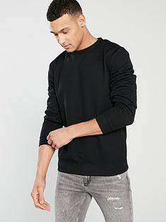river-island-river-island-black-essential-crew-neck-sweat