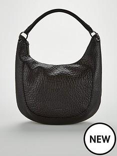 8533c999f2 Ted Baker Mariele Stab Stitch Hobo Bag - Black