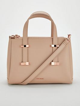 5459a3868798 Ted Baker Julieet Bow Adjustable Handle Small Tote - Taupe ...