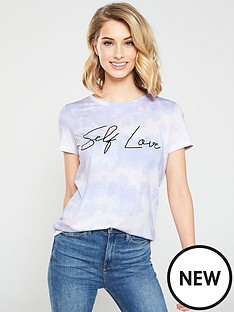 v-by-very-self-love-t-shirt-tie-dye