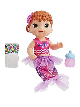 Baby Alive   Shimmer N Splash Mermaid Red Hair