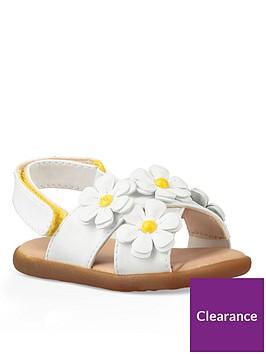 761c7f30823 Infant Girls Allairey Sandals - White
