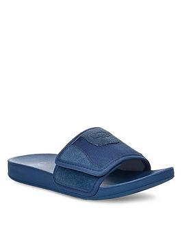 ugg-beach-sliders-blue