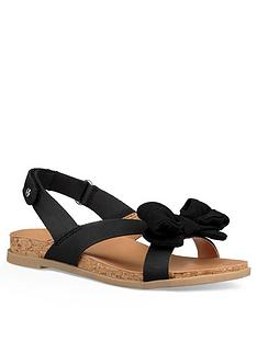 ugg-girls-fonda-footbed-bow-sandal