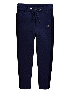 5a2bf8be1 Baker by Ted Baker Boys Jersey Printed Chinos - Navy