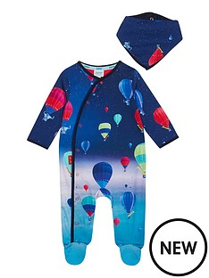 baker-by-ted-baker-baby-boys-hot-air-balloon-sleepsuit-and-bib