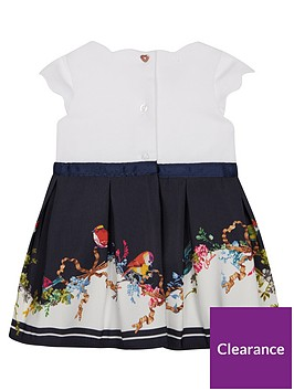 1e865bb04264c Baker by Ted Baker Baby Girls Border Mockable Dress