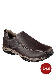 skechers-rovatonbsp--venten-slip-on-shoes-brown