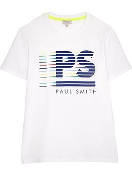 paul-smith-junior-boys-short-sleeve-logo-t-shirt-white