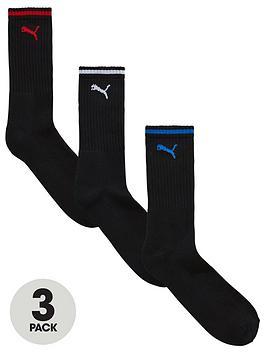 Puma   3 Pack Stripe Sport Socks