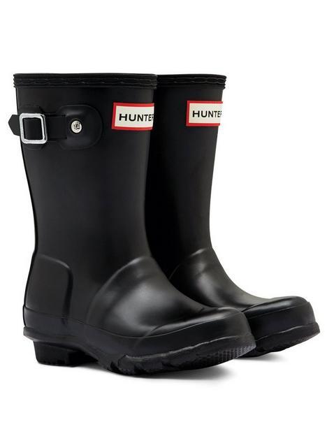 hunter-original-kids-wellington-boots-black