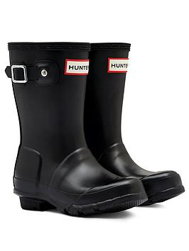 Hunter Hunter Original Kids Wellington Boots - Black Picture