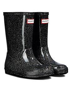 hunter-original-kids-starcloud-wellington-boots-black-glitter