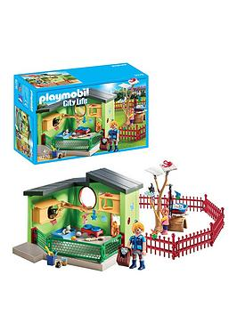 PLAYMOBIL Playmobil Playmobil 9276 City Life Purrfect Stay Cat Boarding Picture