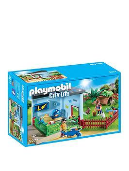 playmobil-playmobil-9277-city-life-small-animal-boarding-with-hamster-wheel