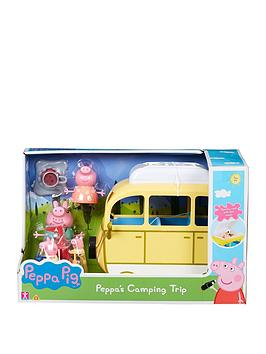 Peppa Pig Peppa Pig Camping Trip Play Set Picture