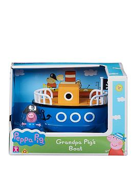 Peppa Pig Peppa Pig Vehicle - Grandpa'S Boat Picture