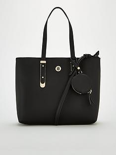 tommy-hilfiger-modern-hardware-medium-tote-bag-black