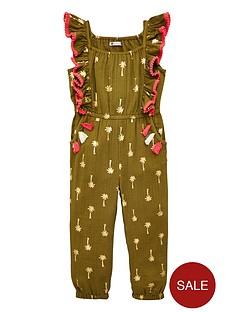 mini-v-by-very-girlsnbsppalm-print-jumpsuit-khaki