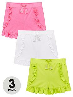 mini-v-by-very-girls-3-pack-frill-detail-shorts-multi