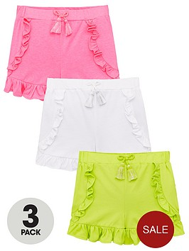 mini-v-by-very-girls-3-pack-frill-detail-shorts-multi