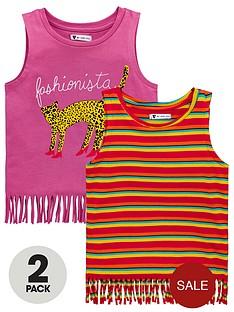 mini-v-by-very-girls-2-pack-fringe-vests-multi