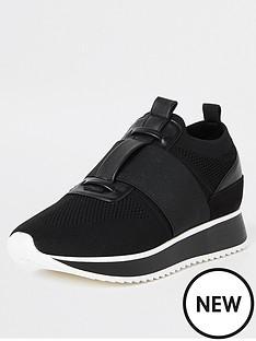 river-island-river-island-knitted-runner-trainer-black