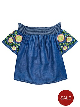 v-by-very-girls-embroidered-blouse-denim