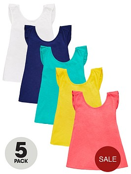 v-by-very-girls-5-pack-wrap-back-vests-multi