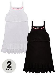 v-by-very-girls-2-pack-frill-dresses-multi