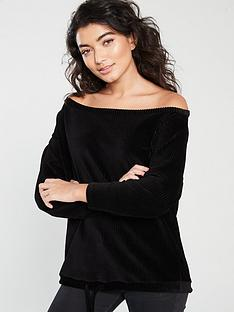 v-by-very-cord-slouch-jumper-black