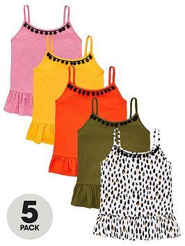 v-by-very-girls-5-pack-trim-vests-multi