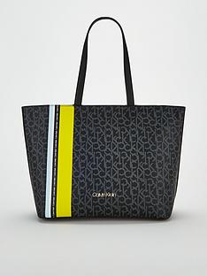 calvin-klein-monogram-shopper-bag