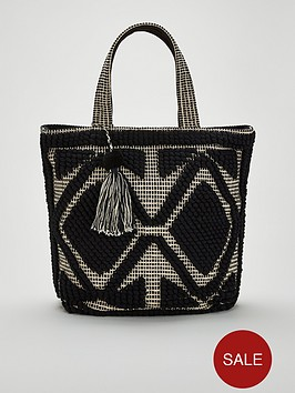 v-by-very-jinni-bobble-textile-tote