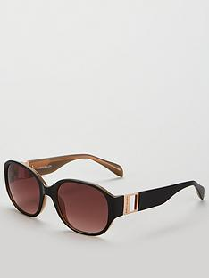 karen-millen-oval-black-sunglasses