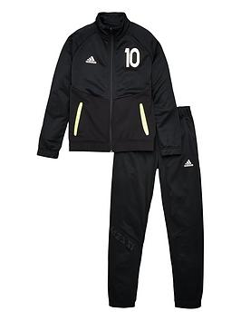 adidas-youth-messi-tracksuit-black