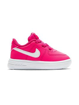 nike-air-force-1-infant-trainers-pinkwhite